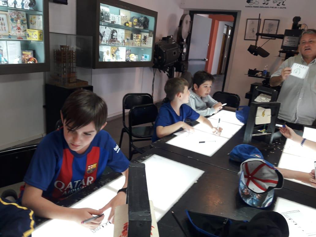 Viaje educativo a Rosario