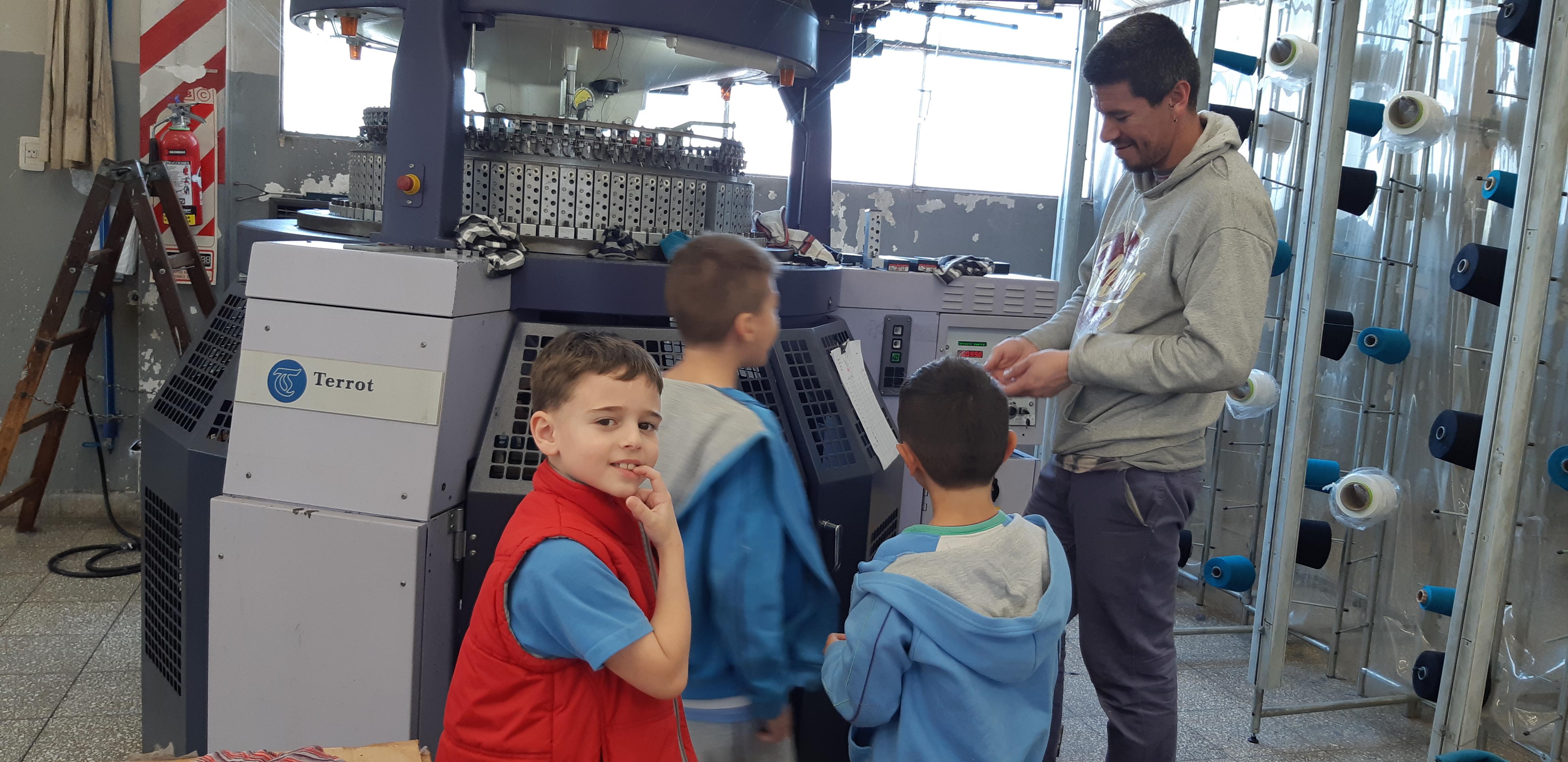 El proceso industrial: 2do. grado visita fábricas
