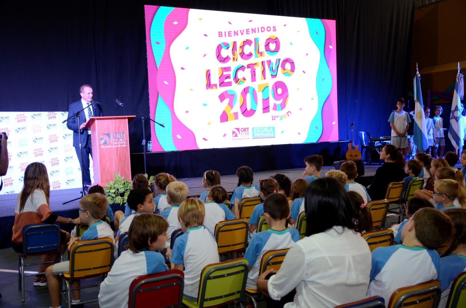 Grandes expectativas y mucha emoción en el inicio del ciclo lectivo 2019 de la Escuela Primaria