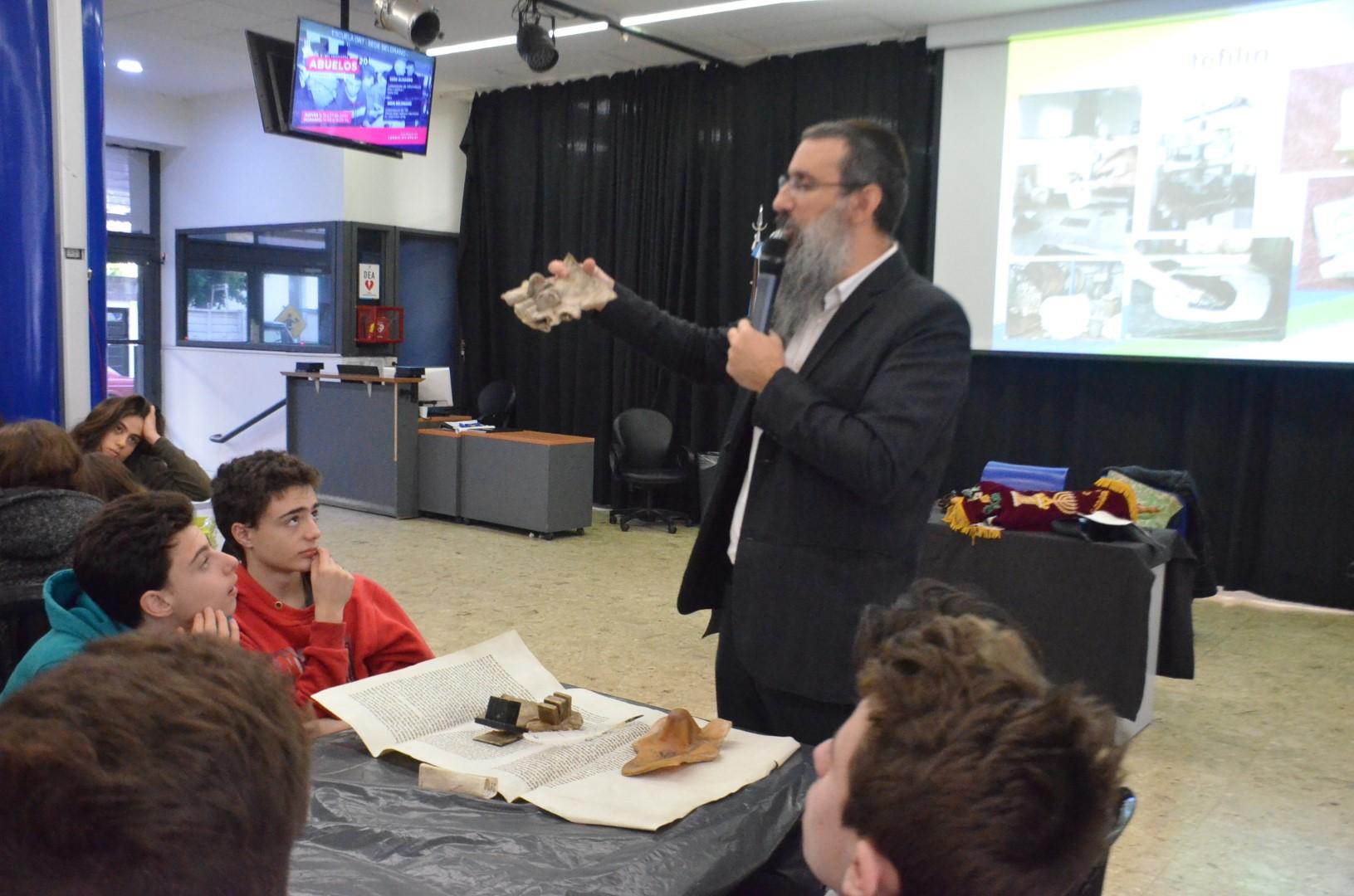 Expo Sofrut, una actividad para aprender acerca del patrimonio del pueblo judío