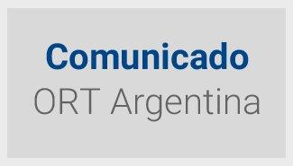 Comunicado - ORT Argentina